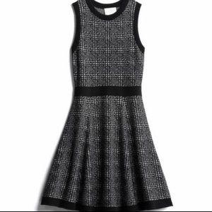 Kate Spade Mode Plaid Sweater Dress